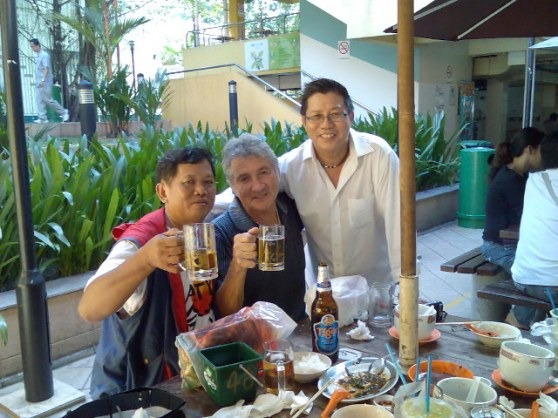 Our friends Yeo & David