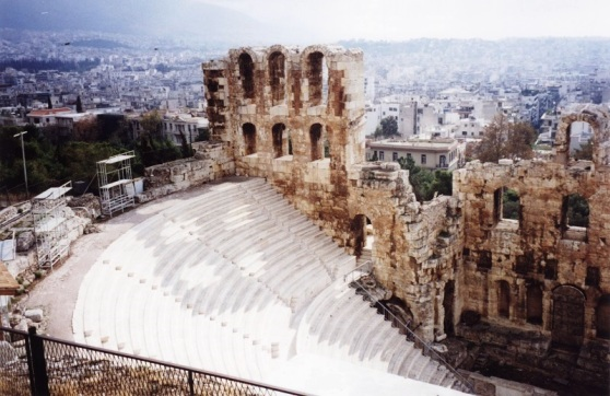 Acropolis Athens Greece 1996