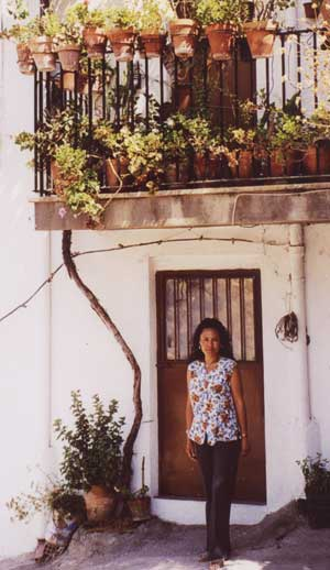 Rachel in The Alpujarra
