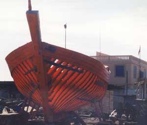 Boat Building, Essaouira
