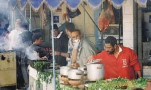 Food Stalls, Morocco