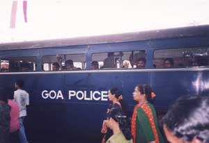Captive Goan Police, Goa