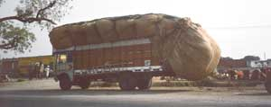 Well Laden Truck