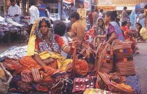 Lamani Women at Mapusa Market, Goa
