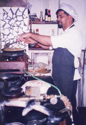 Naik - Cook at Panjim Inn