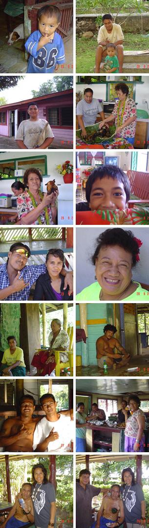 Family in Samoa