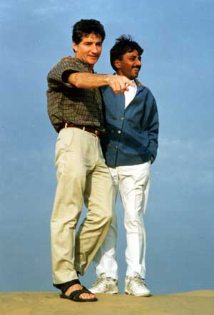 Sharma & Cedric in Thar Desert