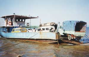 Vehicular River Ferry, Goa