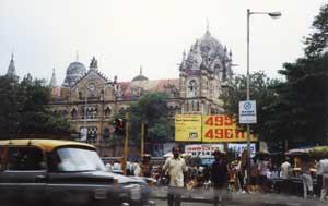 Victoria Rail Station, Mumbai