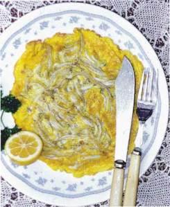 Whitebait Omelette
