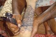 Cedric's Tattoo nearly finished - June 2012