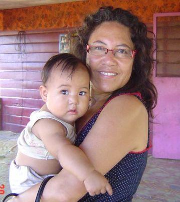 Rachel & Baby Rachel - Etuale's & Valeria's daughter