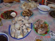 Samoan Food at Uncle Amoa & Aunty's Place - Samoa 2012