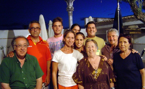 Family in Sevilla July 2013