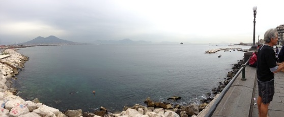 Bay of Napoli Italia