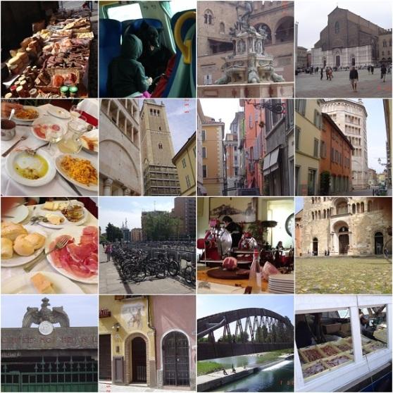 Bologna Parma Rimini Ravenna