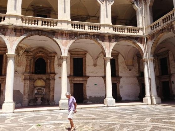 Catania Museum - Cloister Sicilia