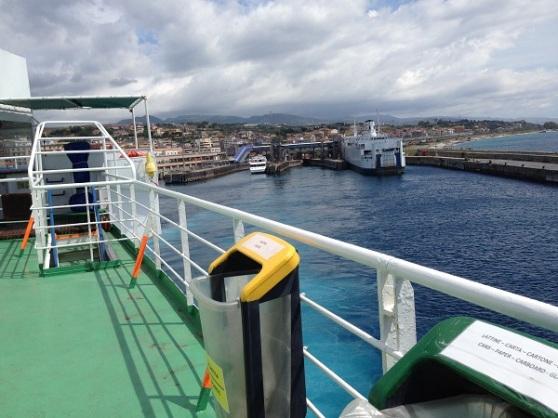 Ferry to Messina Sicilia