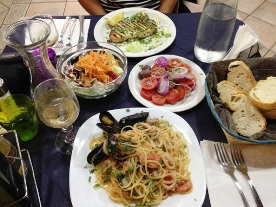 Food at Casa Linga - Milazzo Sicilia