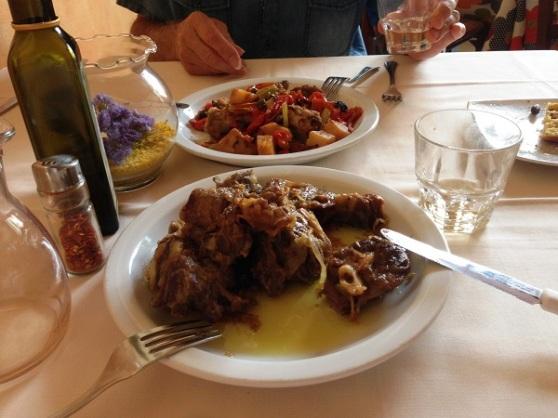 Lunch in Modica-Modica Alta