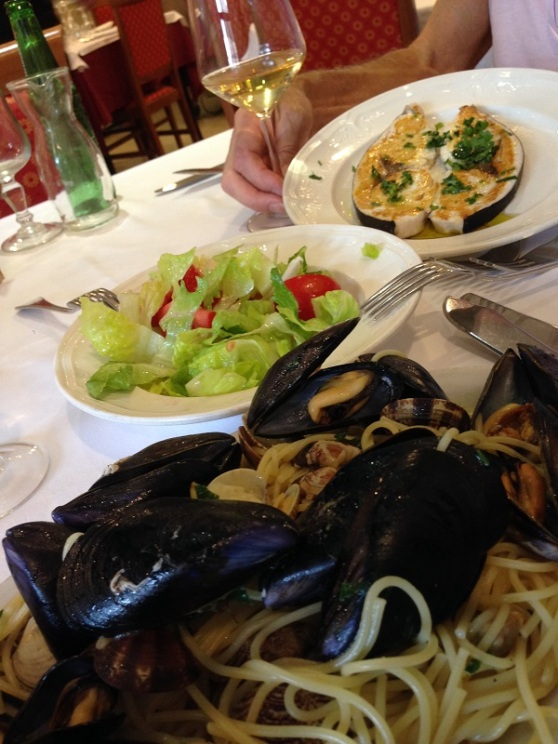 Syracusa - overpriced meal