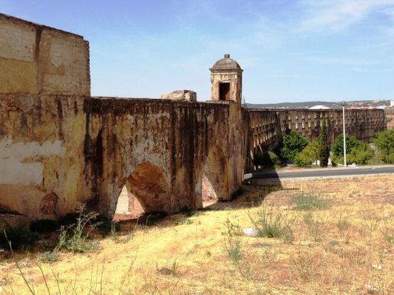 Aqueduct of Elvas Portugal