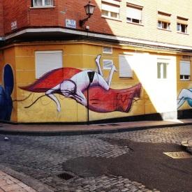 Back streets of Zaragoza - Wall Art Spain