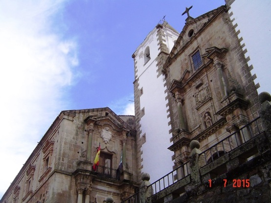 Caceres - Churches in Spain
