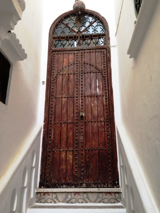 Decorative Door in Tangier Morocco