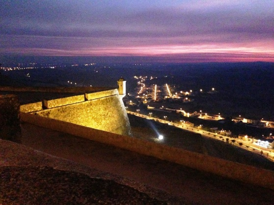 Elvas - after sunset