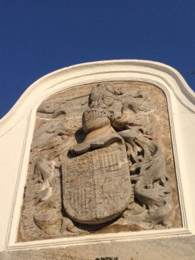 Elvas - decorative family crest