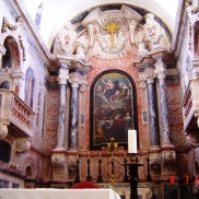 Elvas - interior church art -Portugal
