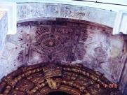 Evora Convent - decorative ceiling