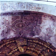 Evora Convent - decorative ceiling