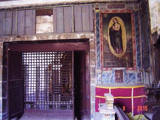 Evora Convent - religious tableau