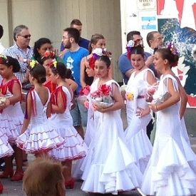 Fiesta in La Linea Spain