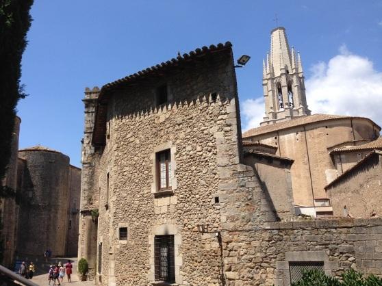 Girona Casco Viejo Olde Walls