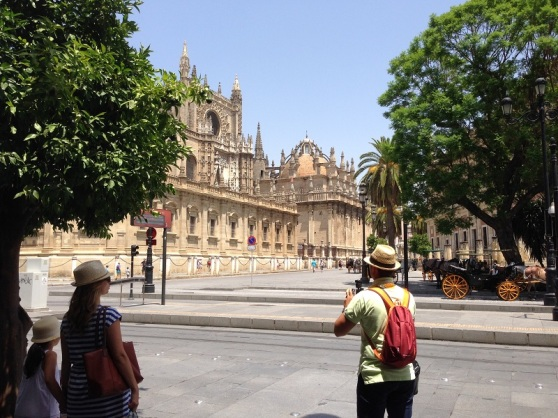 Historical Seville Spain