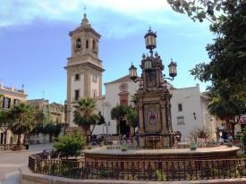 Plaza in Algeciras Spain