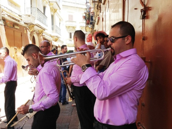 Pre-wedding Celebrations Street Band Tangier Morocco