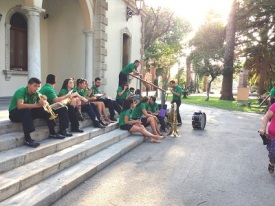 Street band - La Linea Spain