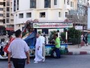 Street Food Seller Tangier Morocco