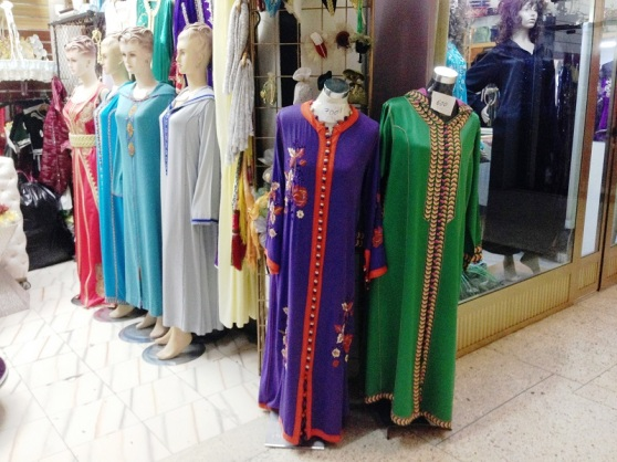 Tanger Clothes Shop Morocco