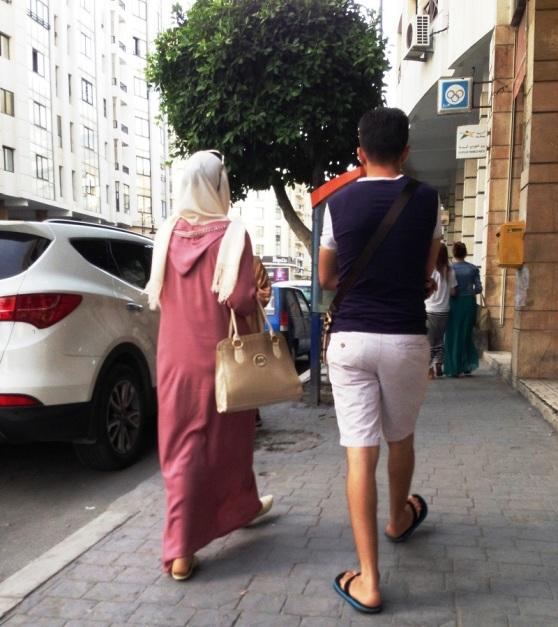 Tanger - Moroccan attire