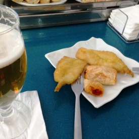 Tapas in Caceres Spain