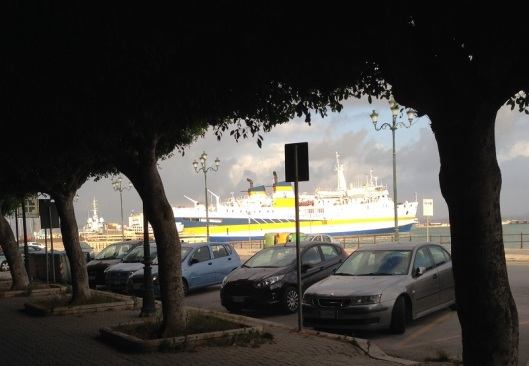 Trapani Ferry Port Waterfront