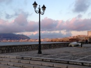 Trapani waterfront walk