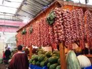 Vegetable Market Tangier Morocco