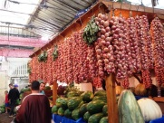 Vegetable Market Tangier Morocco