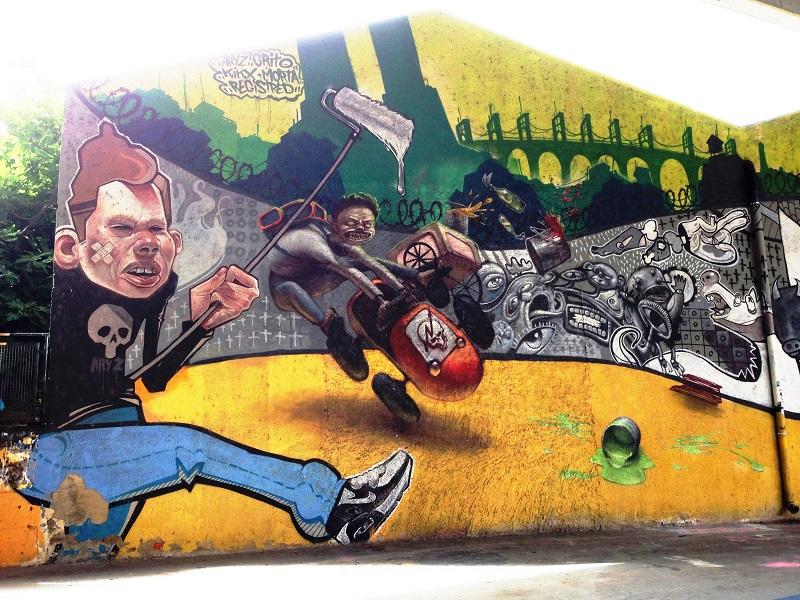 Bilbao Street Art - Zamoa Productions